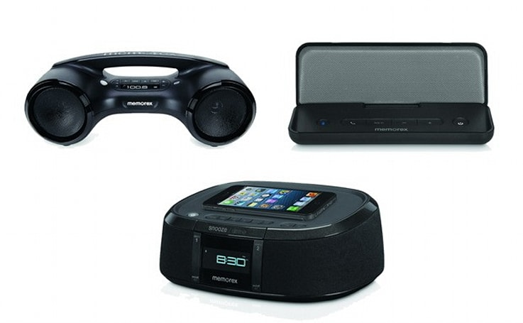 Memorex launches a trio of Bluetooth audio products, we suggest you keep 'em away from the chandelier hands-on