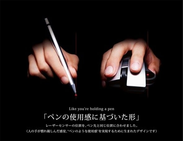 Elecom's Scope Node precision mouse - it's precise, but only in Japan