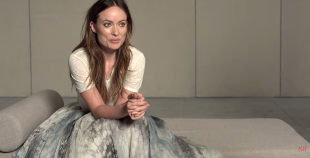 Olivia Wilde reveals sustainable style with H&M