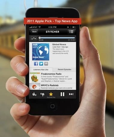 Stitcher adds Smart Station to its redesigned iOS and Android apps, makes finding Radiolab even easier