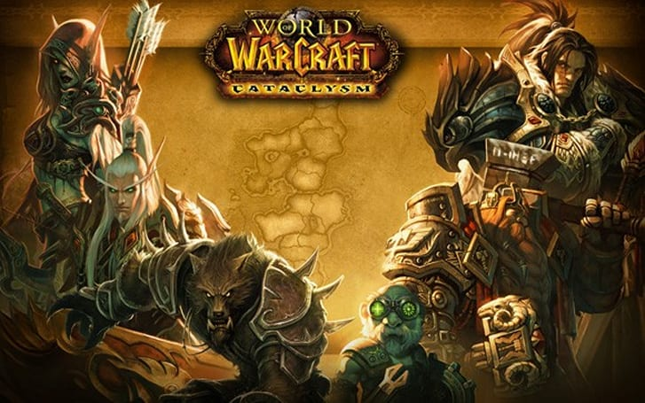 Cataclysm Beta: New loading screen gallery