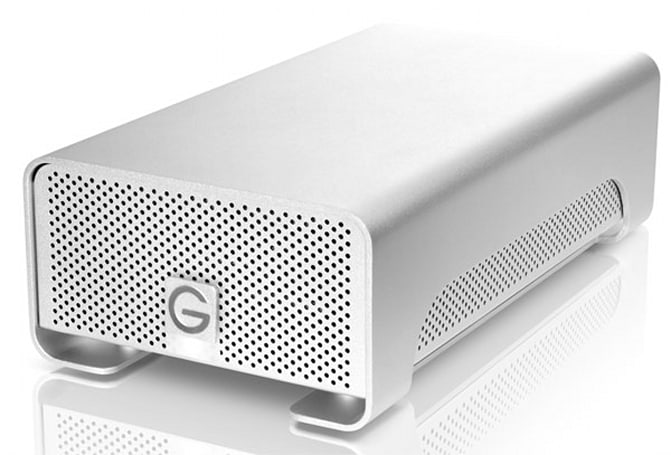 G-Technology demos dual-drive 8TB G-RAID HDD, with a dash of Thunderbolt
