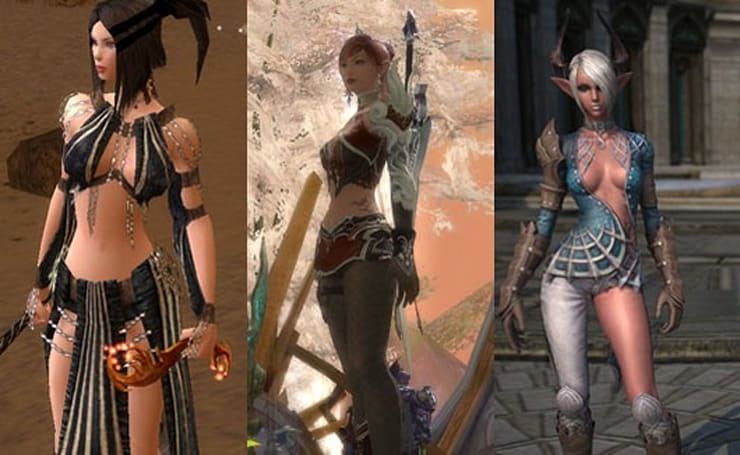 The Daily Grind: When does in-game armor go from sexy to stripperific?