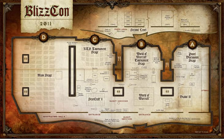BlizzCon 2011 schedule of events