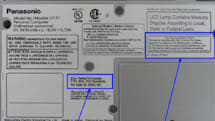 Panasonic CF-W7, CF-T7, and CF-Y7 Toughbooks spotted in FCC