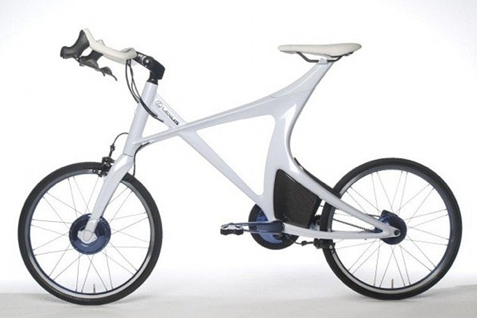 Lexus shows off hybrid bicycle, won't sell you one