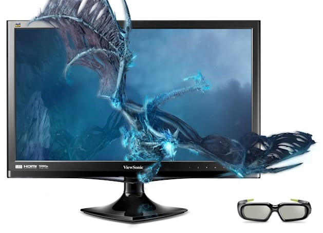 ViewSonic reveals 24-inch V3D245 3D monitor, ships this month for $500