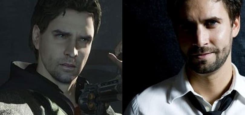 Alan Wake speed painting animates the actor behind the pixels
