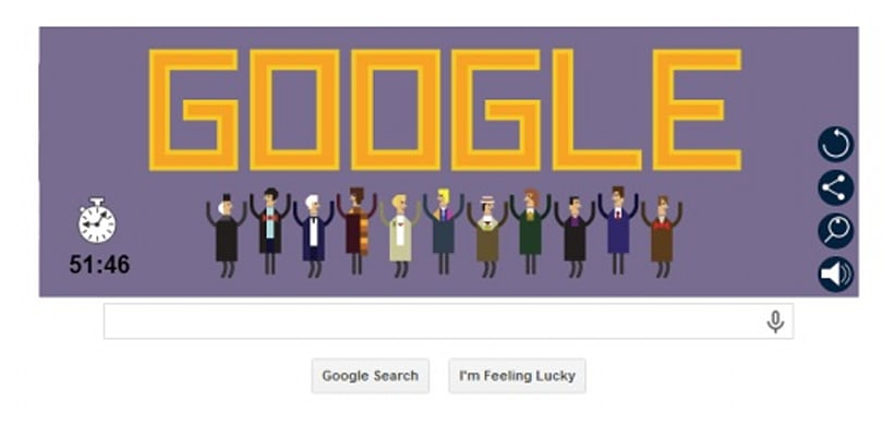 Make time for Doctor Who's birthday Google Doodle puzzler