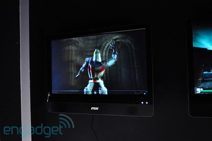 MSI and ASUS show off 3D all-in-ones at CeBIT