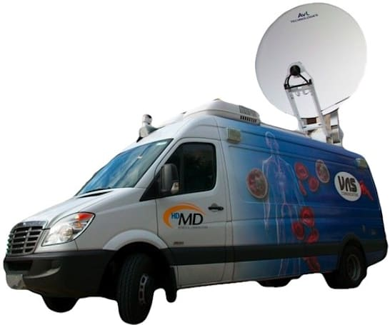 Phoenix doctor's HD production truck makes house calls