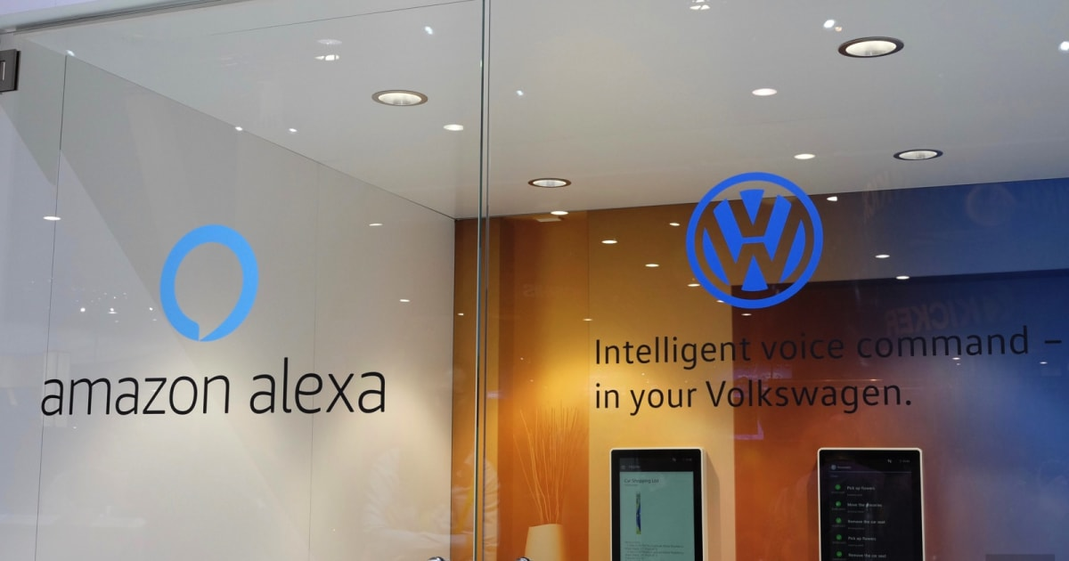 Volkwagen is adding Amazon Alexa to its cars