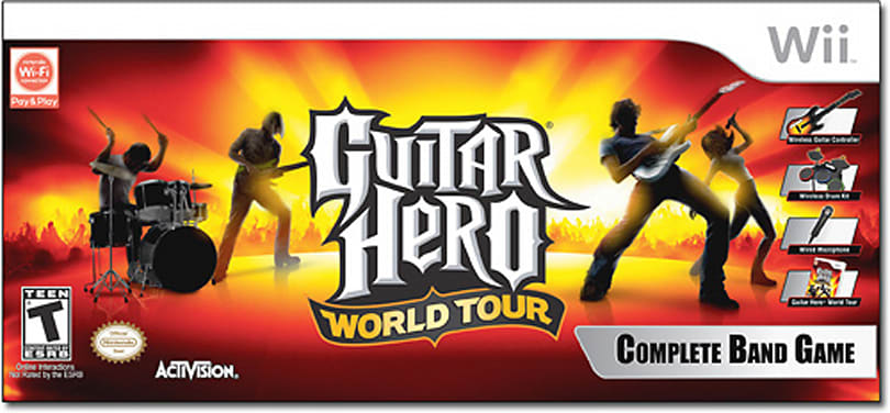 Guitar Hero World Tour now rocking store shelves everywhere