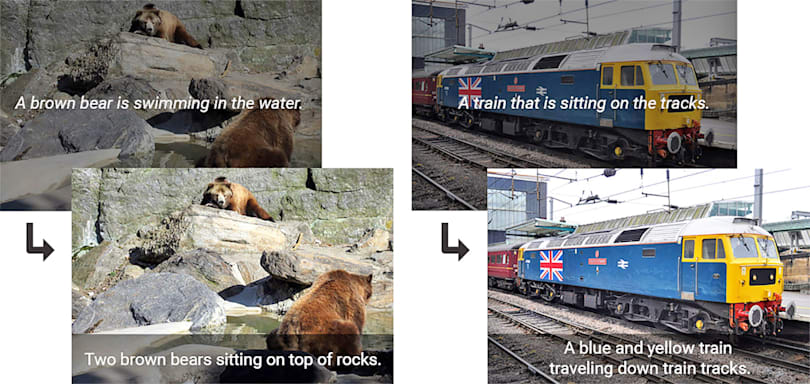 Google's AI is getting really good at captioning photos