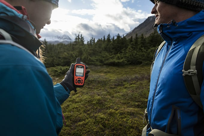 Garmin's satellite hand-helds make it really hard to get lost