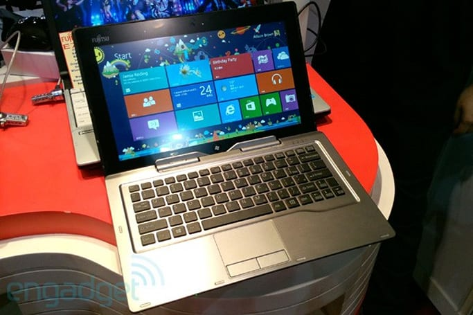 Fujitsu Stylistic Q702 and LifeBook T902 convertibles show up with Windows 8, we go hands-on (video)