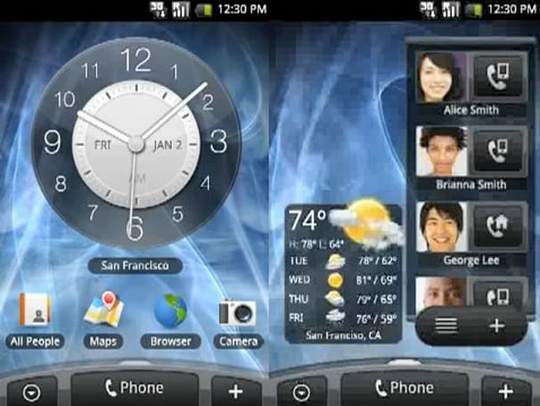 New video of HTC Hero's Android build offers Frenchy vision of widget utopia