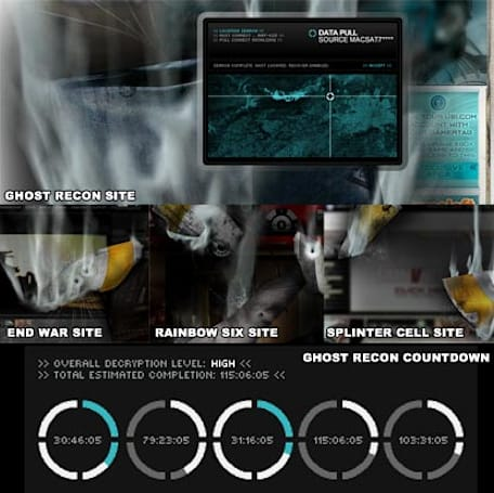 End War & Splinter Cell sites redirect to Ghost Recon, countdown to April 2 appears [Update]
