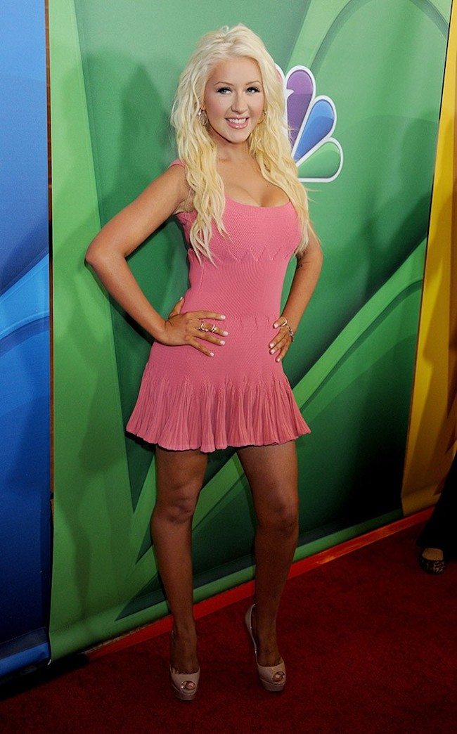 Christina Aguilera shows off stunning new weight loss