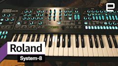 Roland's System-8 keyboard is all the synths you want in one case
