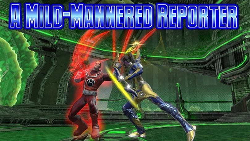 A Mild-Mannered Reporter: Starting fresh in DC Universe Online