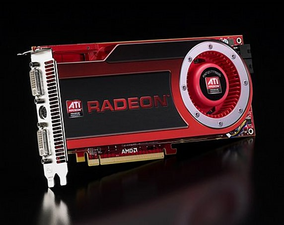 AMD touts the ATI Radeon HD 4870 x2 as the 'world's fastest graphics card'