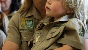 Steve Irwin's Son is a Spitting Image of Him