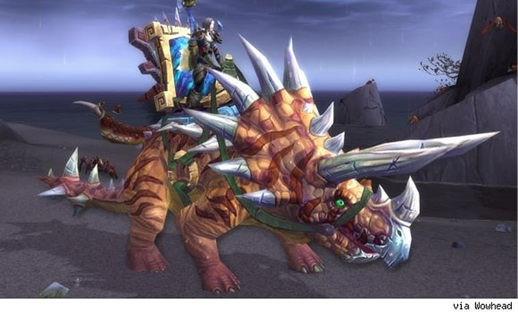 Direhorn mounts coming to patch 5.2 as reputation rewards