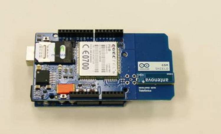Arduino GSM/GPRS Shield gets helping hand from Telefonica for data, remote control