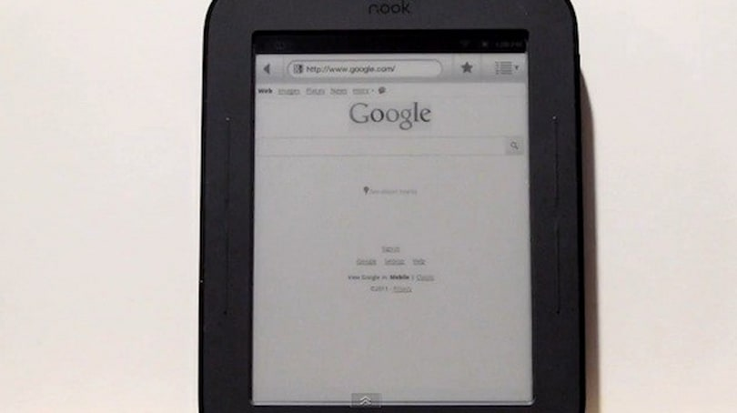 Web browser found hiding in latest Nook, no root required (video)