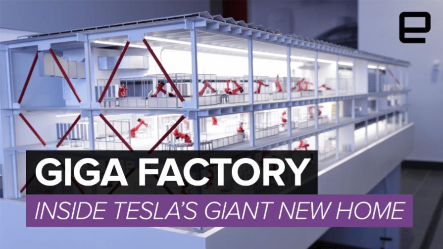 Tesla's Giga Factory