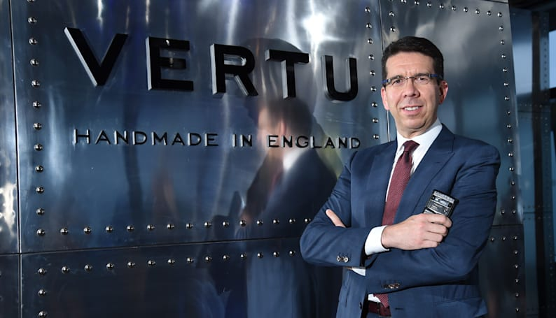 Vertu, maker of the $22,000 smartphone, is considering luxury wearables