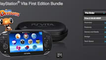 Sony PS Vita First Edition Bundle up for pre-order, lets North American buyers snag it one week early