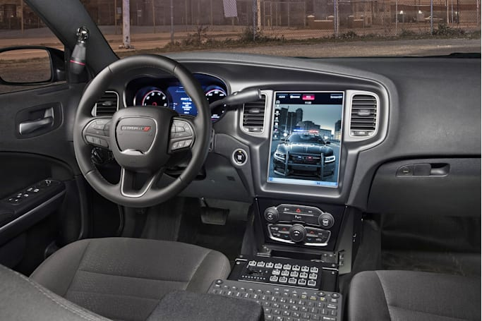 Dodge repurposes its parking tech to safeguard police