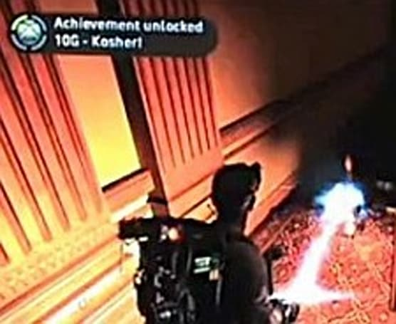 Ham blasting gives 'Kosher' Ghostbusters Achievement