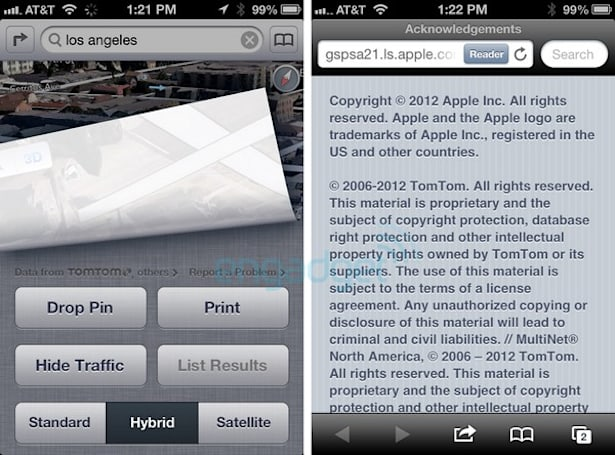Apple selects TomTom as primary iOS 6 maps provider (update: confirmed)