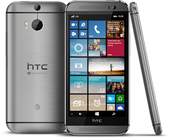 AT&T plans to sell the HTC One M8 for Windows soon