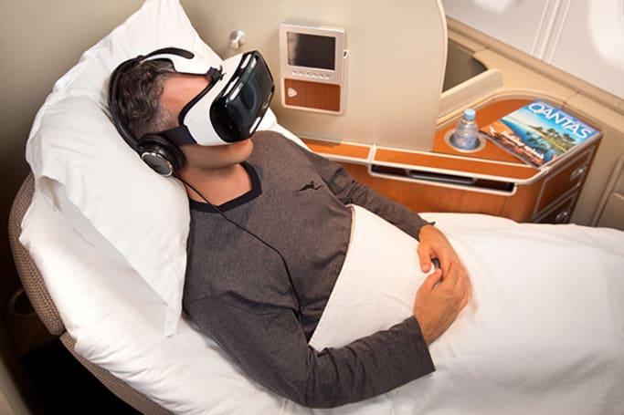 Samsung's Gear VR will entertain Qantas' first-class passengers