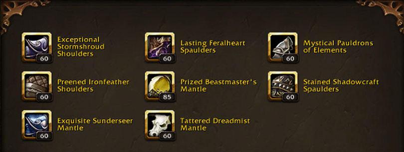 Patch 6.1 PTR: Heirloom necklaces datamined