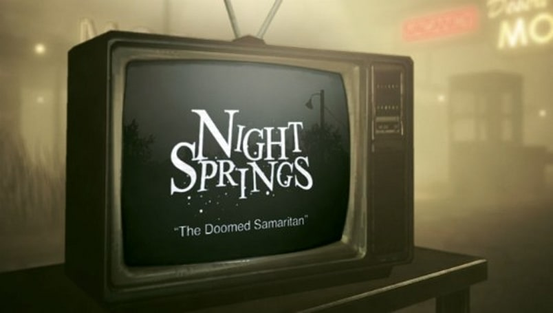 An all new episode of Alan Wake's Night Springs: 'Doomed Samaritan'