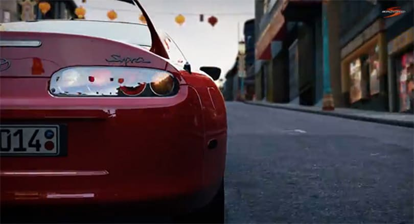 Here's a supra new World of Speed trailer