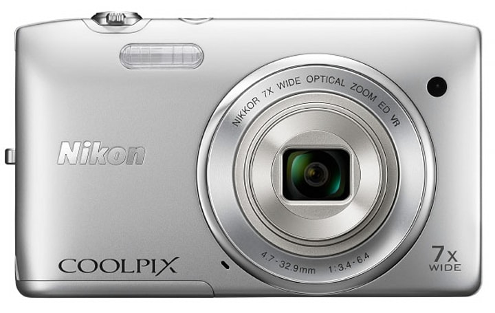 Nikon Coolpix S3500 ships this month with 20MP CCD, lens-shift VR for $139