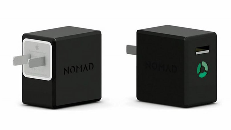 NomadPlus turns your iPhone's wall plug into an external battery