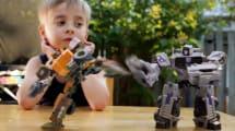Gutenacht-Video: Spielzeug-Battlebots geben sich VFX-Saures