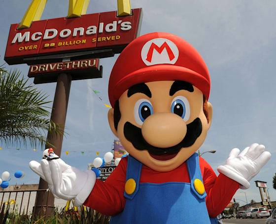 Mario and pals are coming back to UK Happy Meals this week