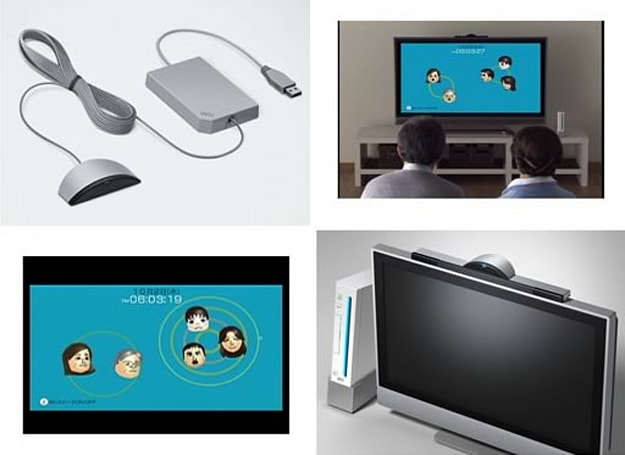 Nintendo unveils Wii Speak channel for four-way voice chats