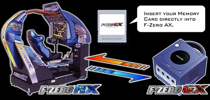 Full F-Zero AX arcade game discovered in F-Zero GX