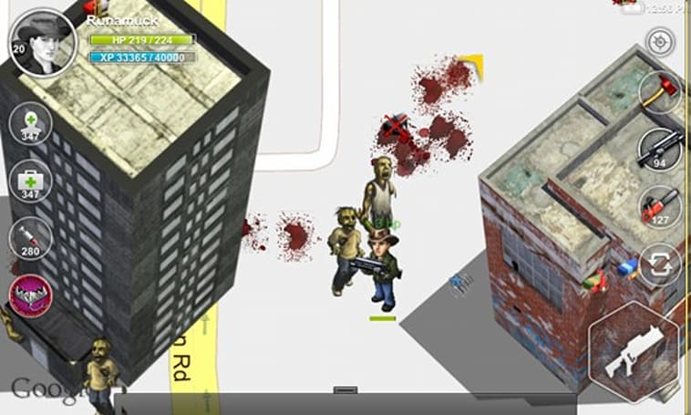E3 2012: Fragging undead on your phone with Parallel Zombies