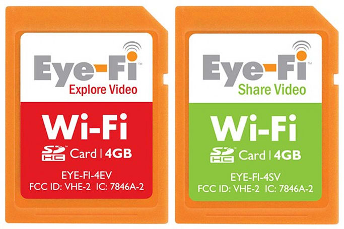 Eye-Fi's 4GB WiFi SDHC cards start to ship out