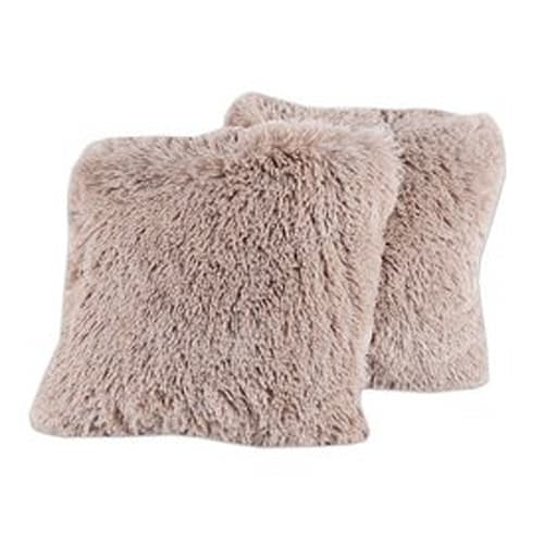 Faux Fur Soft and Comfy Throw Pillow